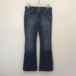 7 for all Mankind Flare denim jeans